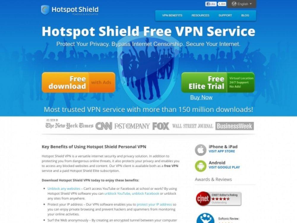 Hotspotshield Review 2019 - Best VPN List 2019